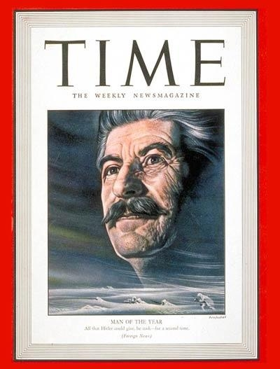 TIME magazine Person of the Year: Joseph Stalin