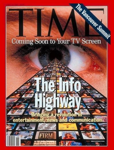 internet the information superhighway
